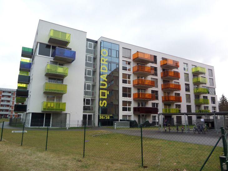 Wohnhaus mit 91 Wohnungen