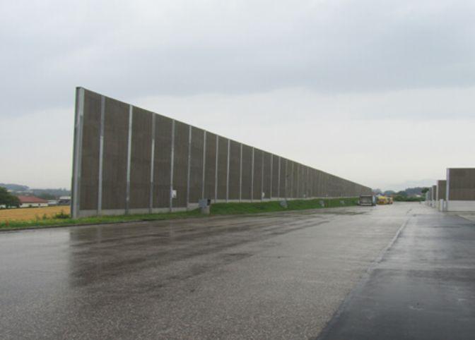 Lärmschutzmaßnahmen Logistikzentrum