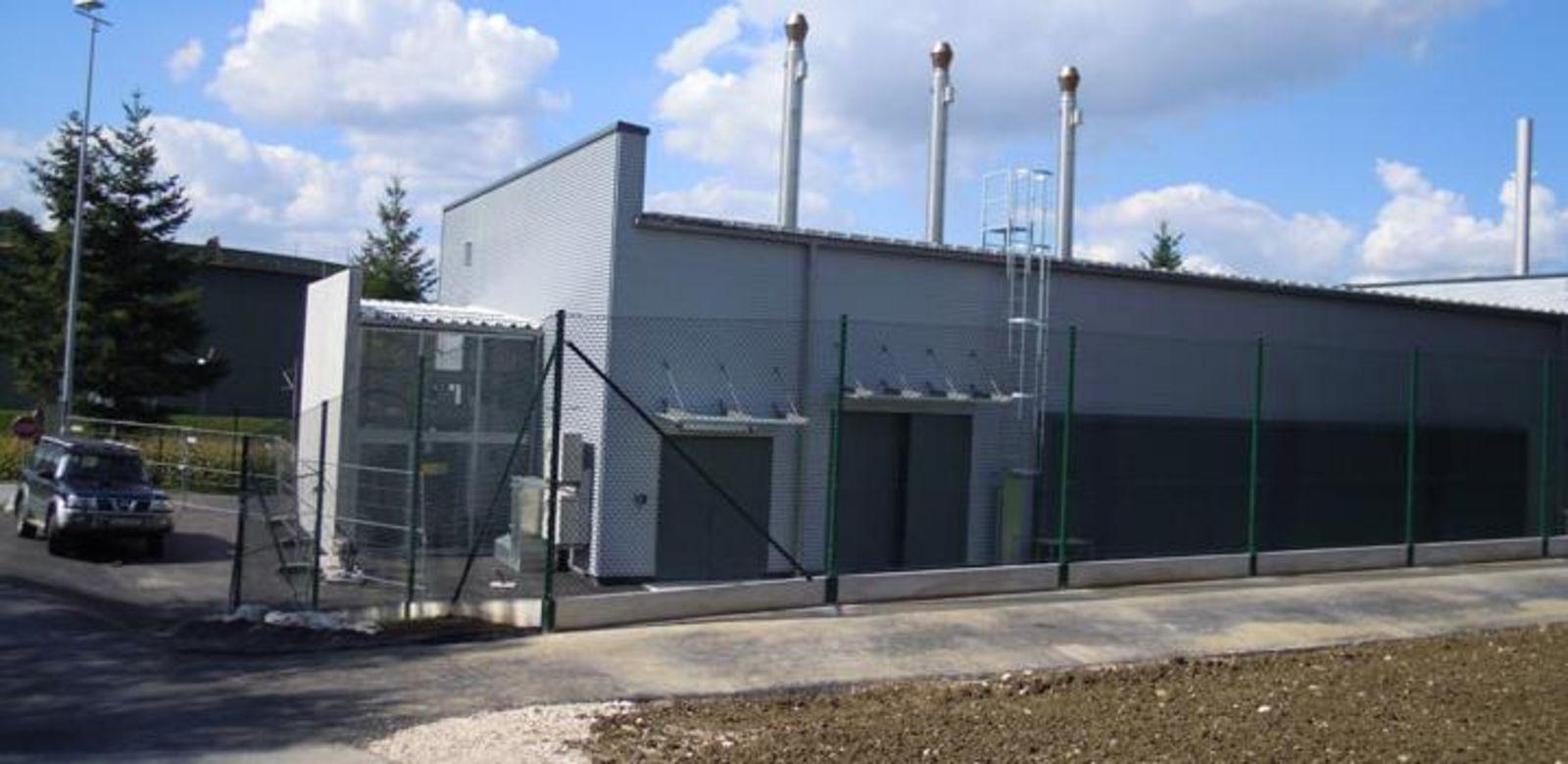 Blockheizkraftwerk Krift