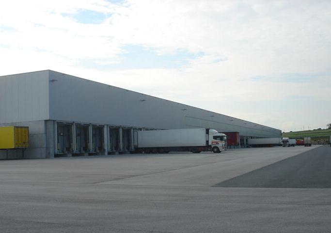 Logistikzentrum Müllendorf