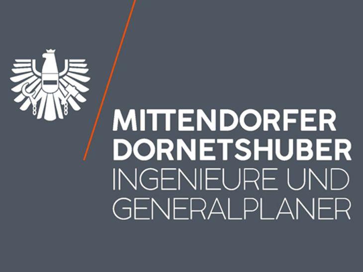 Neuer Firmenauftritt von MITTENDORFER+DORNETSHUBER INGENIEURE UND GENERALPLANER