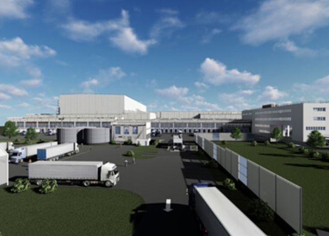 Logistikzentrum Großbersdorf