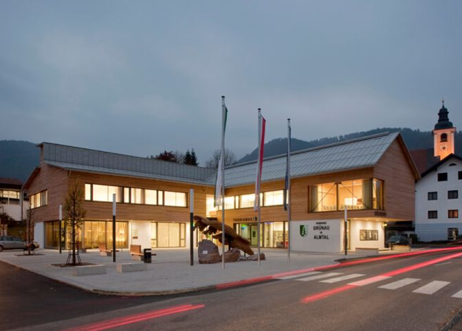 Amtsgebäude Grünau