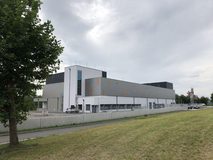 Fertigstellung Rechenzentrum