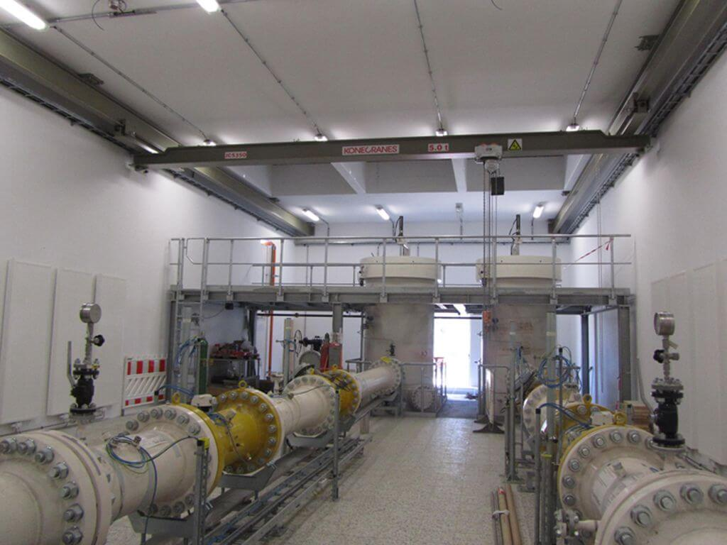 Erdgasmessstationen