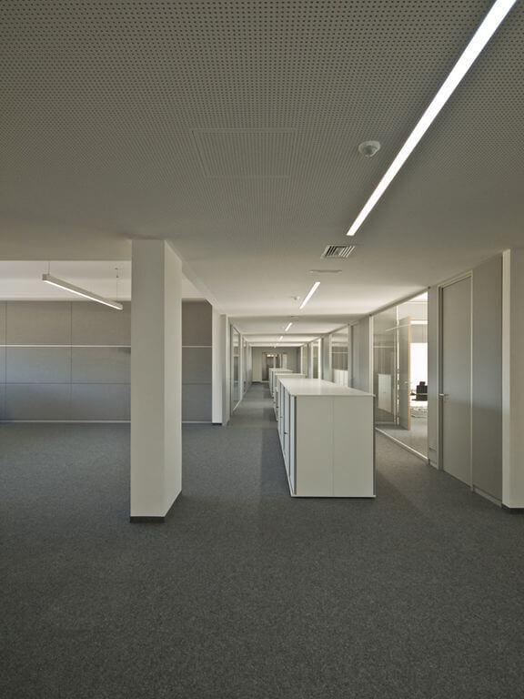 Neubau Produktion, Technikum und Büros